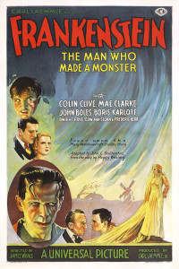 http://commons.wikimedia.org/wiki/Category:Frankenstein#mediaviewer/File:Frankenstein_poster_1931.jpg